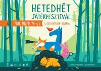 Hetedhét Játékfesztivál Székesfehérváron május 26-27-én