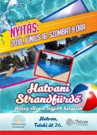 Hétvégén irány a Hatvani Strand!