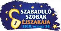 2018. Október 26.-án immáron az ötödik alkalommal megrendezésre kerülő Szabadulószobák Éjszakája!