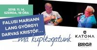 Egy kicsit kuplézgatunk – Falusi Mariann és Lang Györgyi estje a Katona Borházban november 14-én!