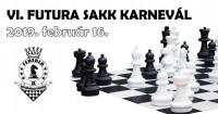 VI. FUTURA Sakk Karnevál 2019. február 16-án!