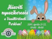 Nagy húsvéti szezonnyitás a Vasúttörténeti Parkban 2019. április 21-22-ig!