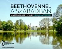 Beethoven a szabadban - a Nemzeti Filharmonikusok koncertje Martonvásárhelyen 2019. július 13-án!