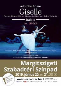 Ajándék páros belépő Adolphe Adam: Giselle című klasszikus balett előadására a Margitszigeten 2019. június 20-án (csütörtökön), HungaryCard tulajdonosok részére!
