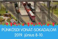 Pünkösdi vonat-sokadalom A Miniversumban június 8-10-ig!