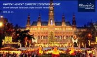 Ha advent, akkor Bécs! Ha Bécs, akkor Élményvonat!