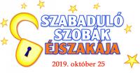 Szabadulószobák Éjszakája 2019. október 25-én, pénteken!