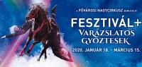 A XIII. Budapest Cirkuszfesztivál győztes produkciói a Fővárosi Nagycirkusz porondján!