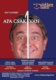 Ray Cooney: Apa csak 1 van - Márton András rendezésében a Vidám Színpadon!