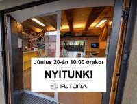 Június 20-án nyit a Futura Interaktív Természettudományi Élményközpont!