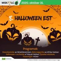 Halloween Est a Miskolci Állatkertben 2020. október 31-én!