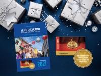 Karácsonyra lepje meg szeretteit, barátait HungaryCard 2021. élménykártyával!